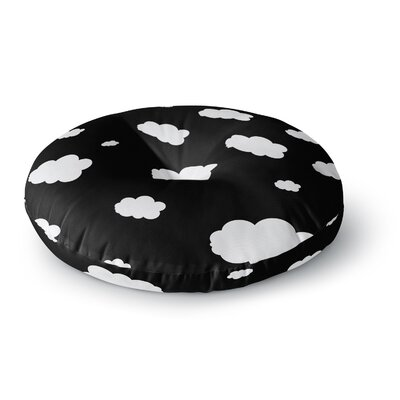 Suzanne Carter Clouds Round Floor Pillow Size: 23 x 23