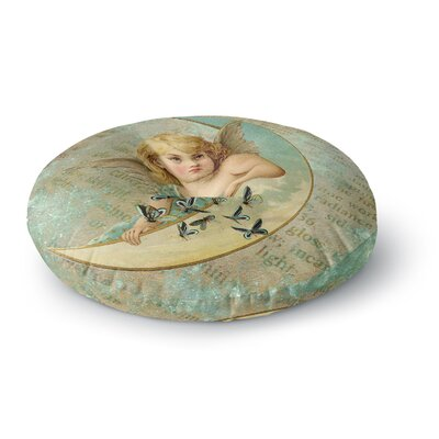 Suzanne Carter Angel Round Floor Pillow Size: 26 x 26