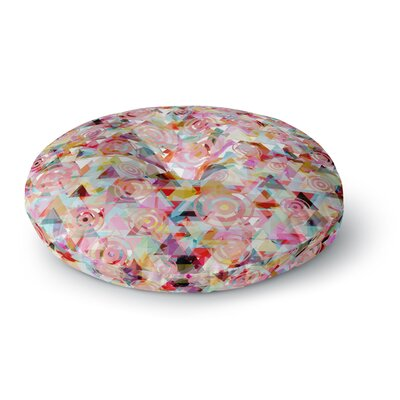 Suzanne Carter Geo Round Floor Pillow Size: 23 x 23