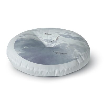 Suzanne Carter Feathers Round Floor Pillow Size: 26 x 26