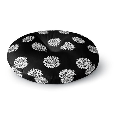 Suzanne Carter Peony Rose Round Floor Pillow Size: 23 x 23