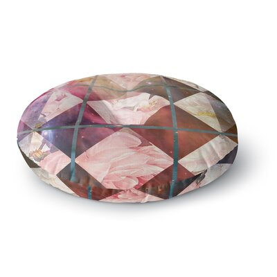 Suzanne Carter Floral Universe Round Floor Pillow Size: 26 x 26