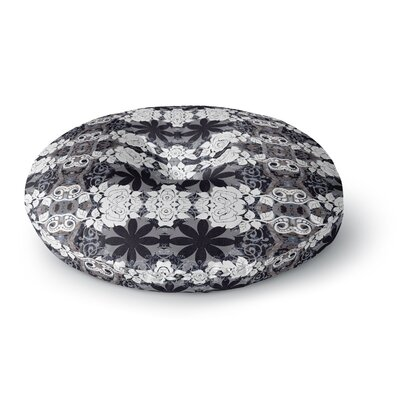 Suzanne Carter Lacey Round Floor Pillow Size: 23 x 23