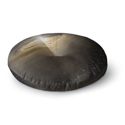 Suzanne Carter Galaxy Round Floor Pillow Size: 23 x 23