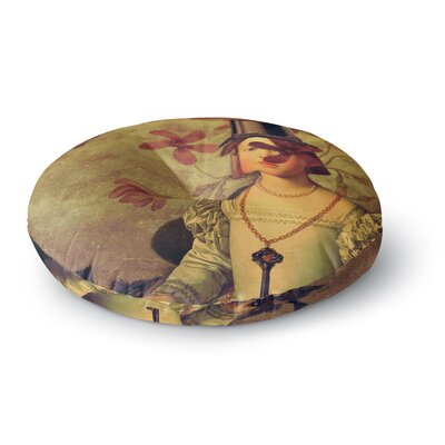 Suzanne Carter The Key Portrait Round Floor Pillow Size: 23 x 23