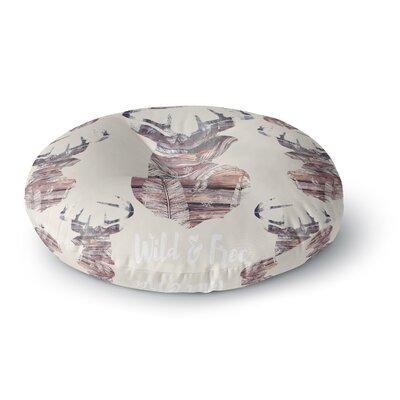 Suzanne Carter Wild & Free 2 Round Floor Pillow Size: 26 x 26