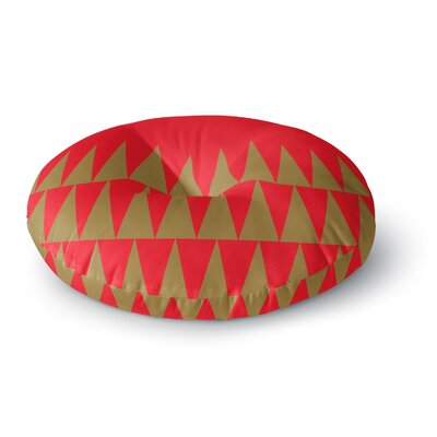 Suzanne Carter Christmas 1 Round Floor Pillow Size: 26 x 26