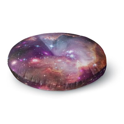 Suzanne Carter Cosmic Cloud Celestial Round Floor Pillow Size: 23 x 23
