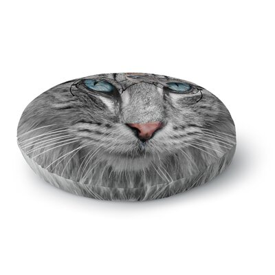 Suzanne Carter Birds Eye View Fantasy Digital Round Floor Pillow Size: 23 x 23
