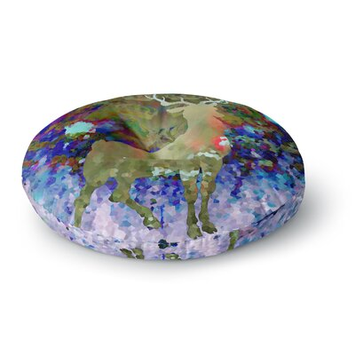 Suzanne Carter Regal Round Floor Pillow Size: 23 x 23
