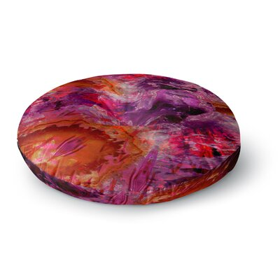 Suzanne Carter Gem Stone Round Floor Pillow Size: 23 x 23