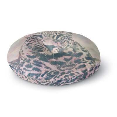 Suzanne Carter Tawny Round Floor Pillow Size: 26 x 26