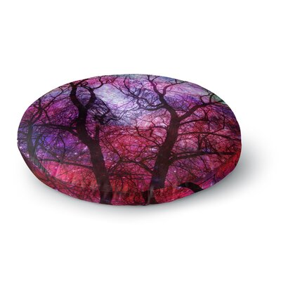 Suzanne Carter Starry Night Round Floor Pillow Size: 26 x 26