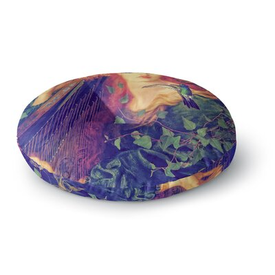 Suzanne Carter Hummingbird Round Floor Pillow Size: 23 x 23