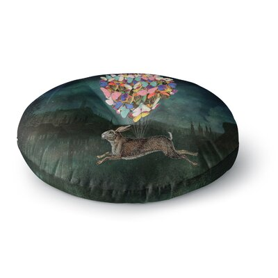 Suzanne Carter Cross Country Round Floor Pillow Size: 23 x 23
