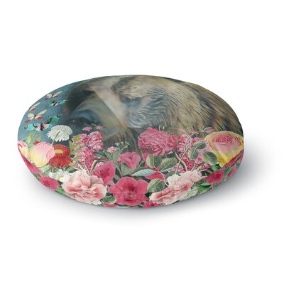 Suzanne Carter Summer Garden Round Floor Pillow Size: 26 x 26