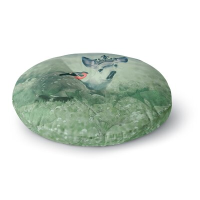Suzanne Carter The Night Meadow Round Floor Pillow Size: 26 x 26