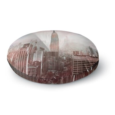 Suzanne Carter NYC Digital Round Floor Pillow Size: 26 x 26