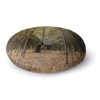 Sylvia Coomes Forest Trees Round Floor Pillow Size: 23 x 23