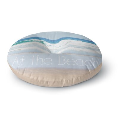 Sylvia Coomes Life is Better At the Beach Round Floor Pillow Size: 26 x 26