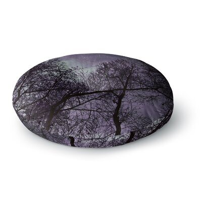 Sylvia Coomes Purple Sky Round Floor Pillow Size: 23 x 23