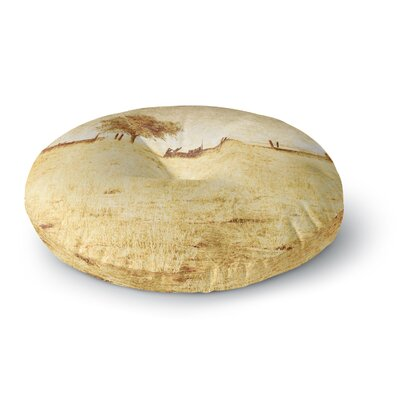 Sylvia Coomes One Tree Round Floor Pillow Size: 23 x 23