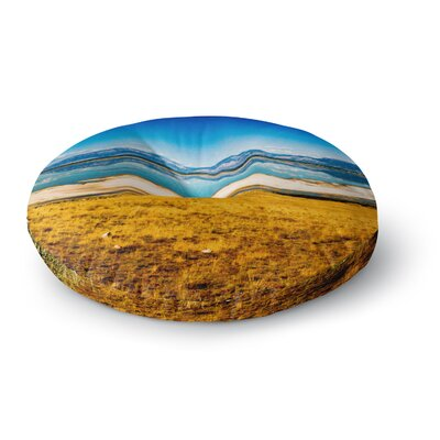 Sylvia Coomes Reflection Nature Photography Round Floor Pillow Size: 26 x 26