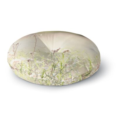 Sylvia Coomes 'Shimmering Light' Nature Photography Round Floor Pillow Size: 26
