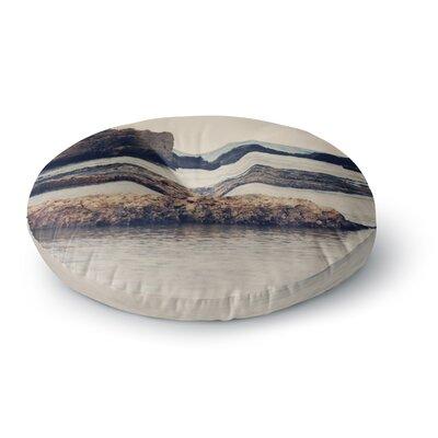 Sylvia Coomes 'Mediterranean II' Round Floor Pillow Size: 23