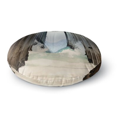 Sylvia Coomes Under the Pier Round Floor Pillow Size: 26 x 26