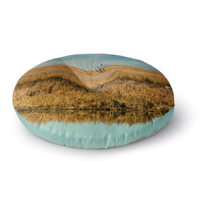 Sylvia Coomes Reflective Landscape Round Floor Pillow Size: 26 x 26