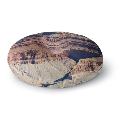 Sylvia Coomes Grand Canyon Landscape 1 Round Floor Pillow Size: 23 x 23