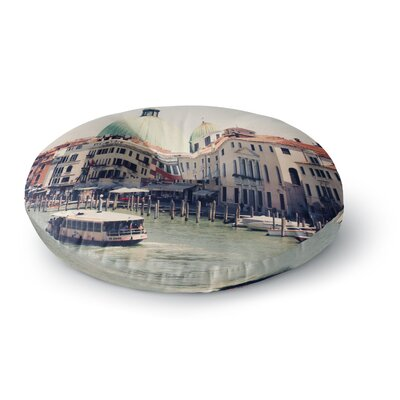 Sylvia Coomes Venice 3 Round Floor Pillow Size: 26 x 26