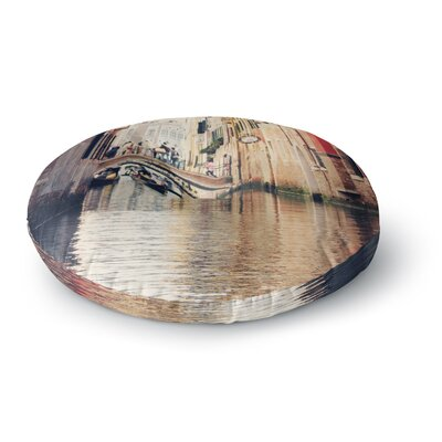 Sylvia Coomes Venice 10 Round Floor Pillow Size: 23 x 23