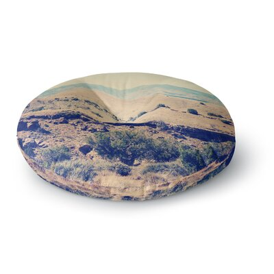 Sylvia Coomes Wild West Nature Round Floor Pillow Size: 26 x 26