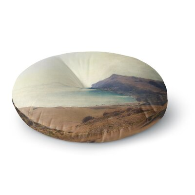 Sylvia Coomes Sea Dream Coastal Round Floor Pillow Size: 26 x 26