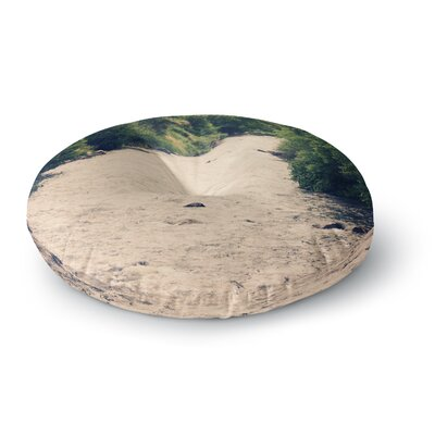 Sylvia Coomes Cold Stream Photography Round Floor Pillow Size: 26 x 26