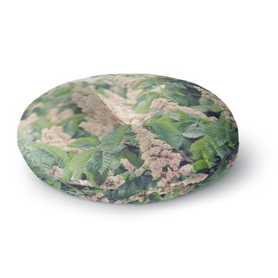 Sylvia Coomes Breath of Fresh Air Floral Round Floor Pillow Size: 26 x 26