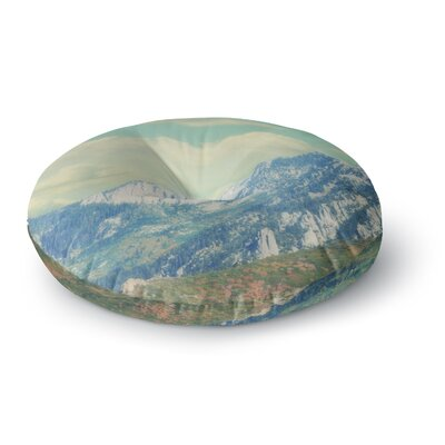Sylvia Coomes Utah Mountains Nature Round Floor Pillow Size: 23 x 23