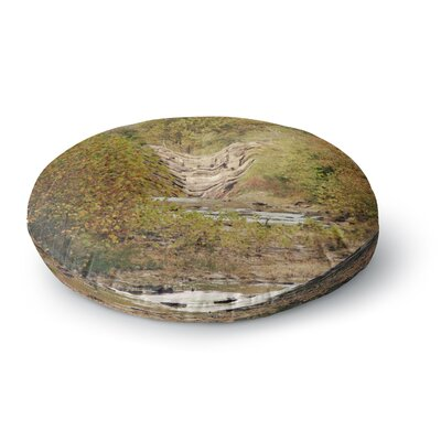 Sylvia Coomes In the Woods 4 Nature Round Floor Pillow Size: 26 x 26