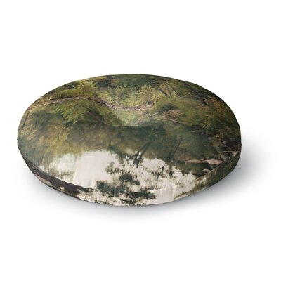 Sylvia Coomes In the Woods 3 Photography Round Floor Pillow Size: 23 x 23