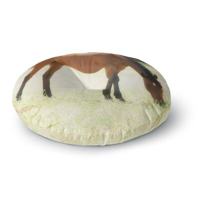Sylvia Coomes Grazing Animals Round Floor Pillow Size: 26 x 26