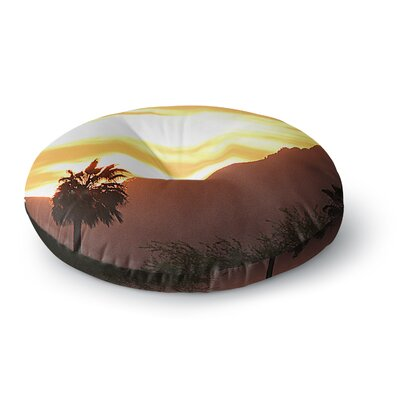 Sylvia Coomes Tucson Sunset Round Floor Pillow Size: 26 x 26