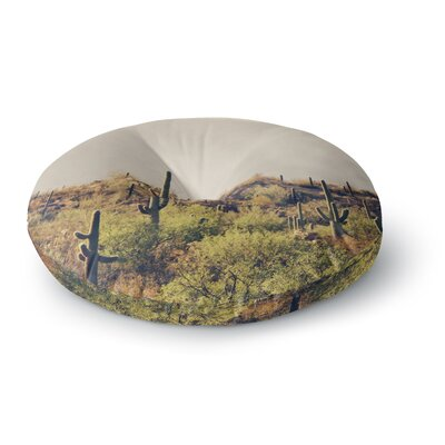 Sylvia Coomes Desert Landscape 5 Photography Round Floor Pillow Size: 26 x 26