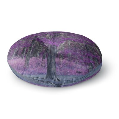 Sylvia Coomes Purple Tree Photography Round Floor Pillow Size: 23 x 23