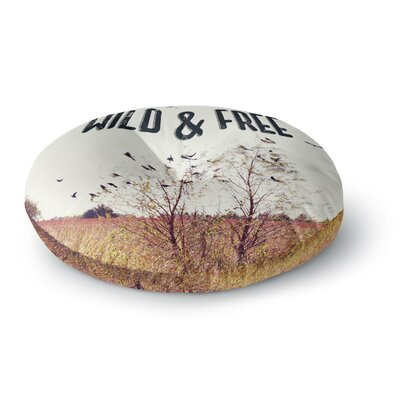 Sylvia Coomes Wild & Free Photography Round Floor Pillow Size: 23 x 23