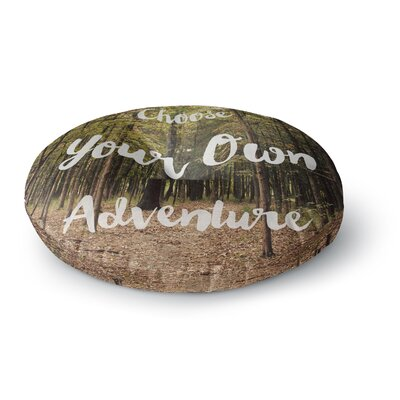 Sylvia Coomes Choose Your Own Adventure Photography Round Floor Pillow Size: 23 x 23
