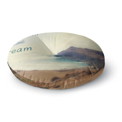 Sylvia Coomes Dream a Little Dream Photography Round Floor Pillow Size: 23 x 23