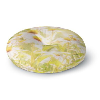 Sylvia Coomes Fields of Flowers Photography Round Floor Pillow Size: 26 x 26
