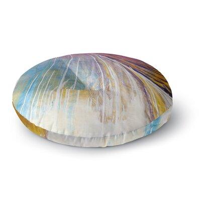 Steven Dix Sway Round Floor Pillow Size: 26 x 26